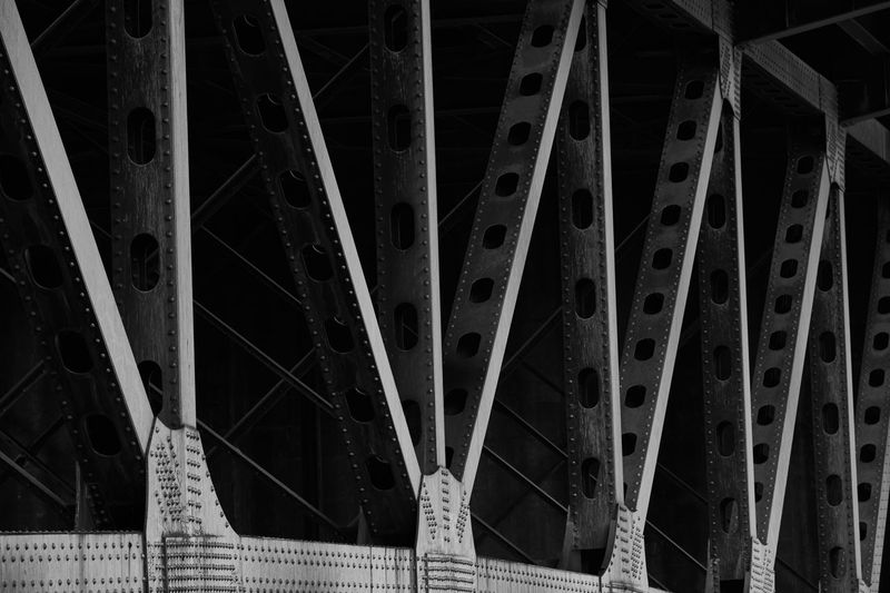 Bridges Man Made Object Oregon Portland Steel Structure Structure And Lines