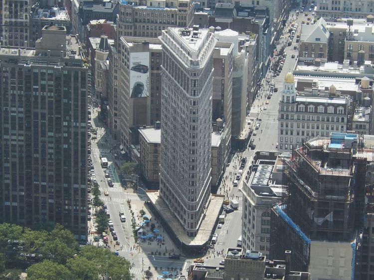 Travel in NY Flatiron Building First Eyeem Photo