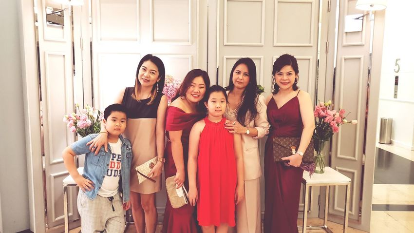 Friendship Young Women Child Bride Party - Social Event Smiling Females Women Cheerful Beautiful People