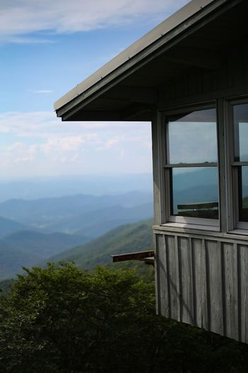 North Carolina Mountains North Carolina Mountaintop National Park Shed Observation Point Blue Ridge Parkway Blue Ridge Mountains Sky Mountain Cloud - Sky Nature No People Scenics - Nature Day Mountain Range The Great Outdoors - 2018 EyeEm Awards
