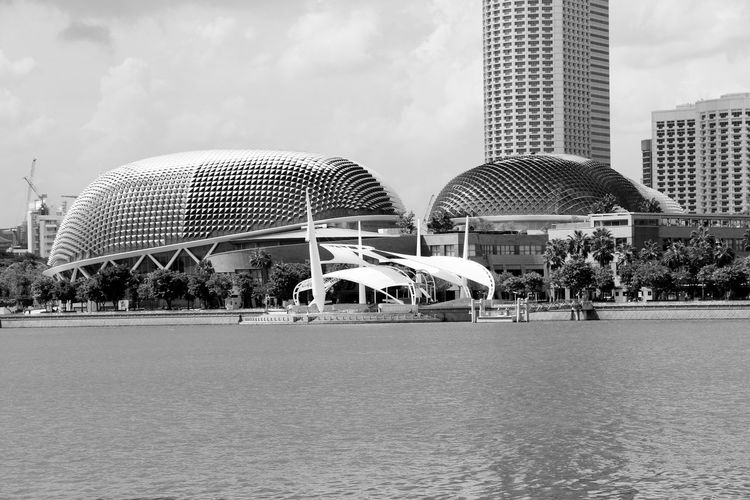 Streets Beauty Building Exterior Buildings Built Structure Bvridge Day Explreindonesia Marina Marina Bay Sands Modern Monochrome Museum Musuem Natgeo Natgeotravel Scenics Sky Sky And Clouds Skyline Tourism Tourists View From Above Visit Visitsingapore VSCO First Eyeem Photo