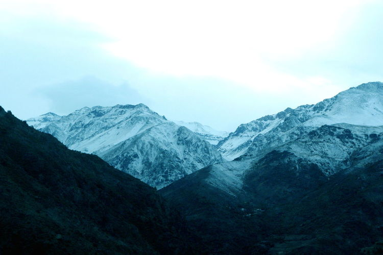 Andes Beauty In Nature Cold Temperature Day Idyllic Landscape Mountain Mountain Range Muntanya Nature No People Outdoors Scenics Sky Snow Tranquil Scene Tranquility