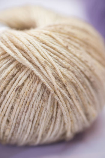 Close-up Indoors  Wool Textile Art And Craft No People Still Life Selective Focus Ball Of Wool Thread Material Softness Craft Pattern Creativity Table Focus On Foreground Textured  Simplicity