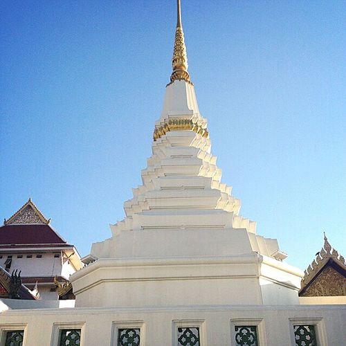 Religion Architecture Gold Spirituality Praying Gold Colored Pagoda Landscape History Sky Buddhism Buddhist Temple Thailand