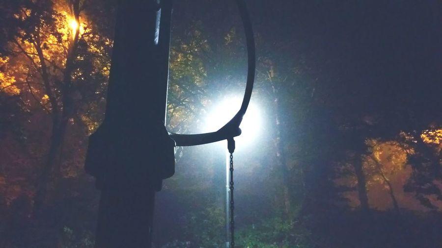 Park Swings Nightphotography Midnight Shots