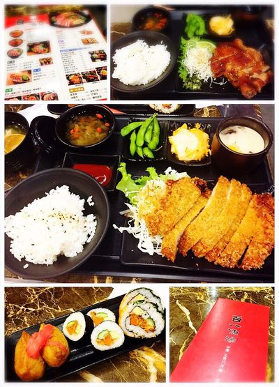 Have meal with colleagues 😝😝😝