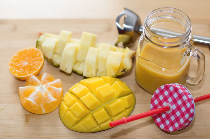 SLICE Healthy Eating Ready-to-eat Ready To Drink Smoothy Smoothie Smoothies!♥ Ananas 👌 Mango Mandarine