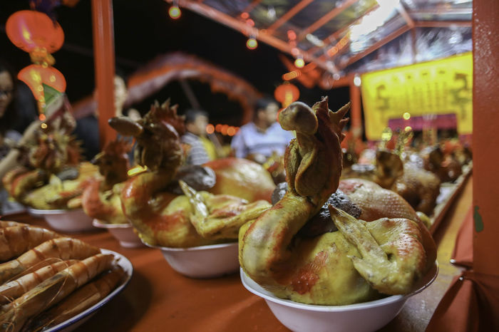 Chap Goh Mei Celebration Event Chap Goh Mei Chinese Culture Food Offerings To The Gods Rituals & Cultural Roasted Chicken Symbolic