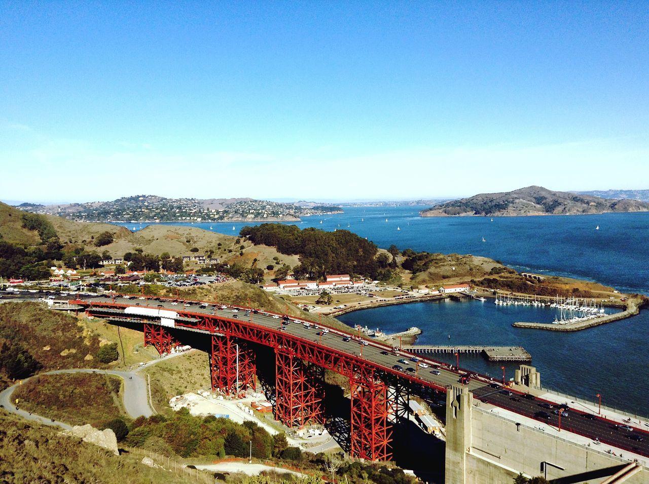 Elevated View Of Bridge