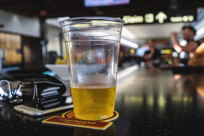 Lets just start our vacation Beer Airport Selective Focus Bar Check This Out Hello World Taking Photos