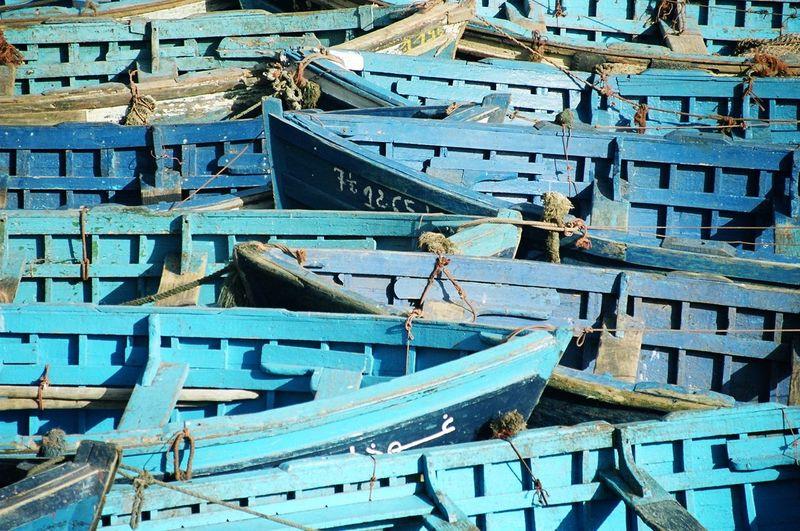 Full Frame Shots Of Old Boats