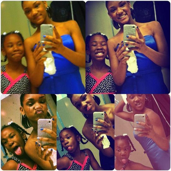 Me And My Cuzzn Earlier