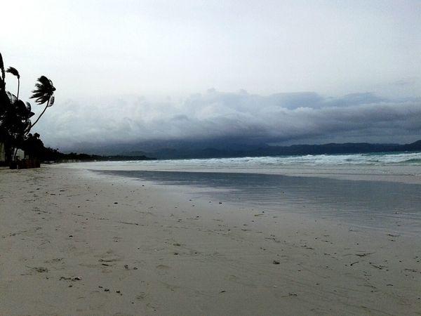 After an am storm at Boracay. Boracay Beachphotography Beach Boracay Philippines