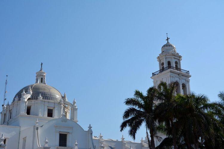 Veracruz Cathedral Against Sky
