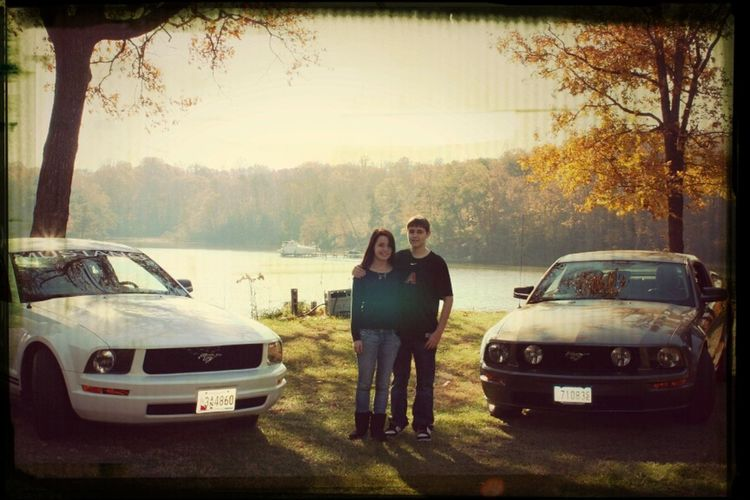 Love Him And Our Cars :)