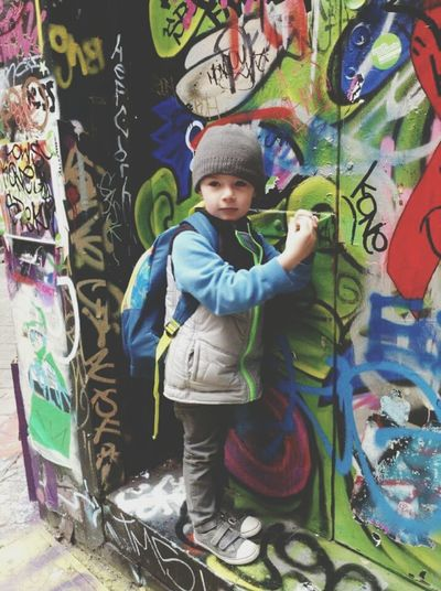 Melbourne Graffiti Laneway Check This Out MyBoy Handsome ILOVEMYSON