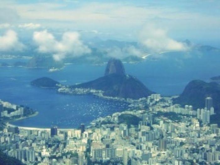 Vista Do Mirante Pão De Açucar Rio De Janeiro Brasil Landscapes With WhiteWall Landscape_Collection Landscape