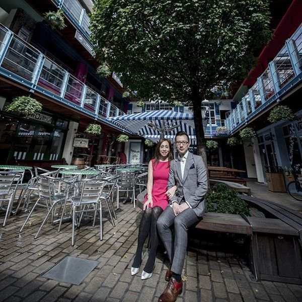 Photo shoot in London Kinglycourt Regentstreet Oxfordcircus Canabystreet Couple Nofilter Noelwongphotography Engagement Prewedding London Coupleholiday