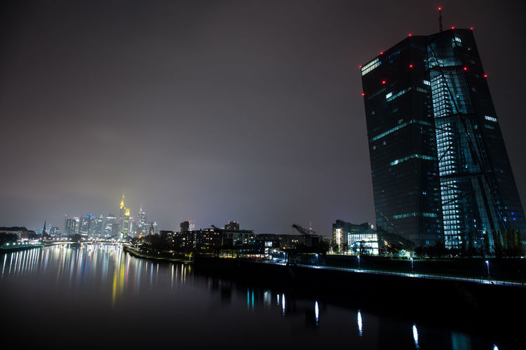 Darkness EyeEm Best Shots EyeEmNewHere Frankfurt Am Main Skyline Skyline Frankfurt Darkness And Light Sky_collection EyeEmNewHere