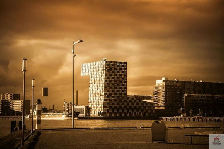 Colorful Canonphotography Sunset Rotterdam Skyline Canon24 70 F/4.0 Canon5dmarkiii Building Monochrome Rotterdam