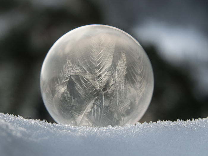 Surface Level Of Ball On Snow