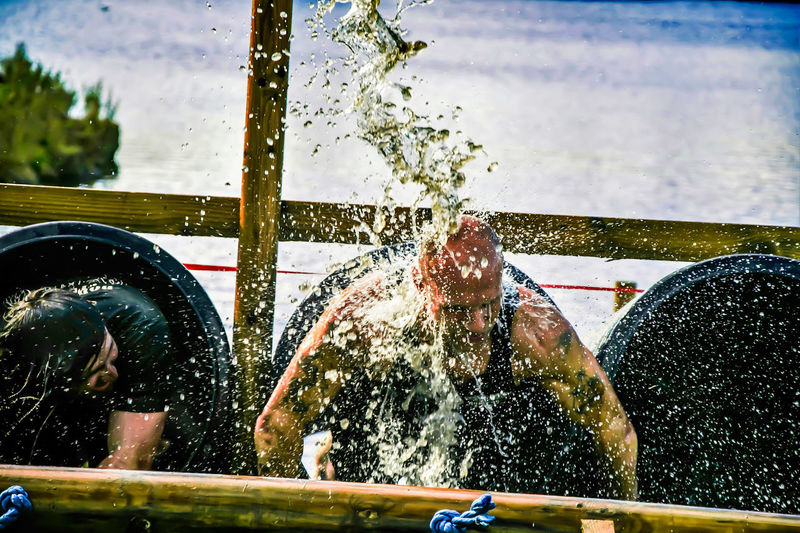 Muddy Mayhem 2016 at Hardwick Park in Sedgefield Water Splashing Real People Muddy Mayhem Photography People Watching For The Love Of Photography Manual Mode Photography People Photography Muddyrace HardwickPark Sedgefield Keep On Snapping
