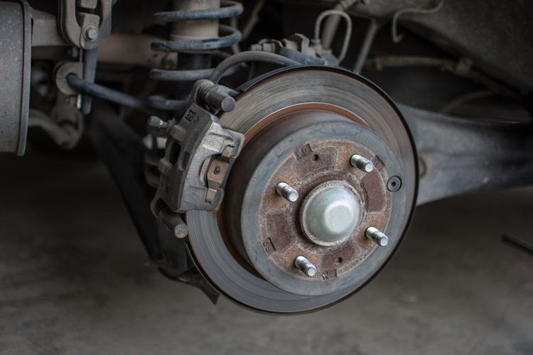 Car Brakes Disk Brakes Close-up Day Machinery No People Outdoors Tire Transportation Wheel