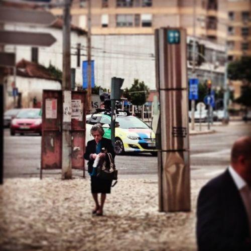 O carro do Google Street View andou por Coimbra =D