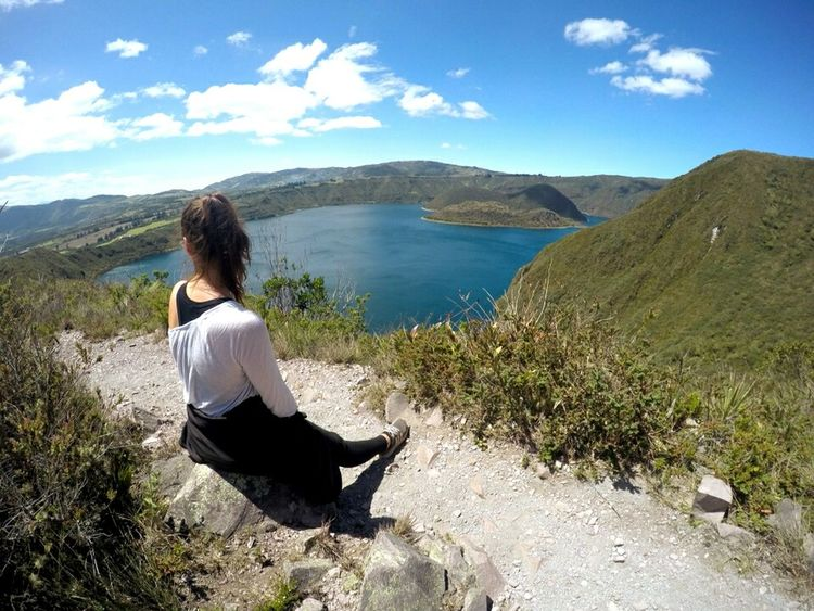 Ecuador Cuicocha Lake Bestspot Hiking Mountain Travel Nature Landscape Beauty Adventure