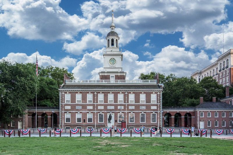 Independence Hall IndependenceHall Philadelphia History Historic Historical Building