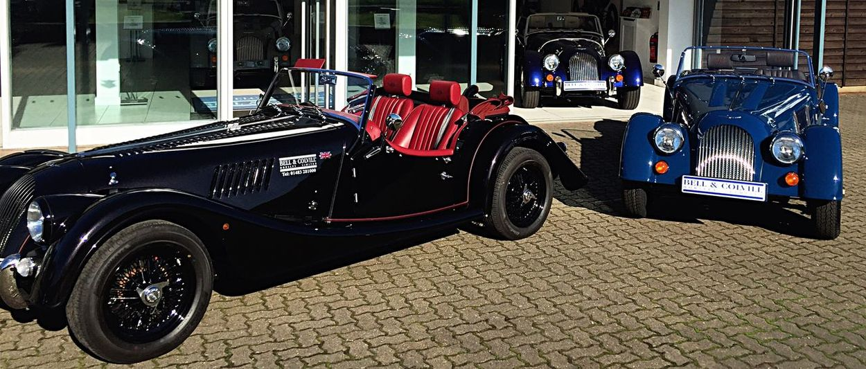 Classic Morgan vehicles Vehicle Roadster Plus 4 Plus 8 Bell & Colvill Car Morgan EyeEm Selects Land Vehicle Mode Of Transport Built Structure Architecture Transportation Building Exterior Stationary Outdoors Day No People