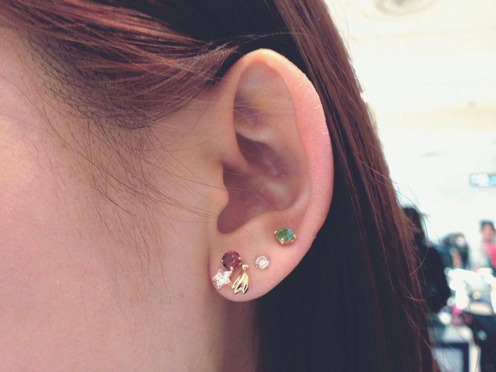 耳👂🏻 Ear Pierced Earrings Enjoying The Colours That's MyFriend♡