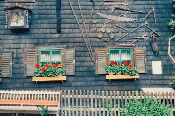 Traditional Bavarian Wood House Lifestyle Emotion