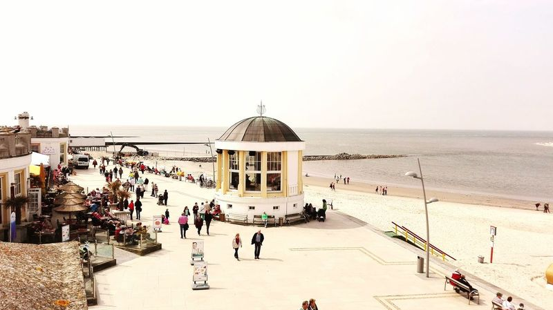 Promenade Beach Pavillion Pavillon Spring Springtime Kurbad Promenade De La Mer Borkum, Germany Northern Sea Ostfriesische Inseln Eastfrisia Eastfrisian Island Sommergefühle Your Ticket To Europe Connected By Travel
