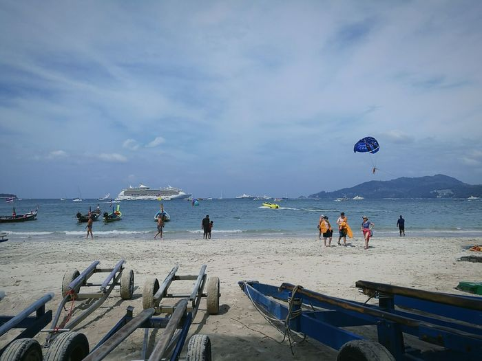 Beach Outdoors Travel Destinations Patong Beach Nature Vacations Leisure Activity