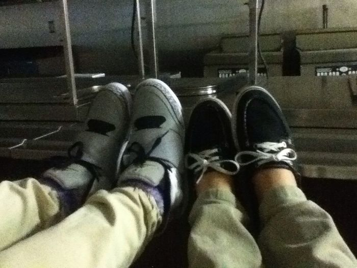 Kicked Back & Relaxing ^-^ Jennifer & I ❤