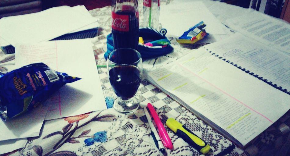 Amanecida dices... :/ ExamWeek Derecho Procrastinating Studying