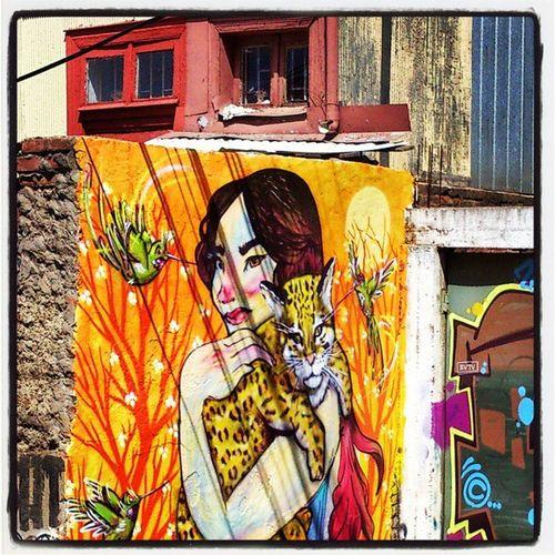 Valpo Streetartchile Streetart Graffiti Valparaíso