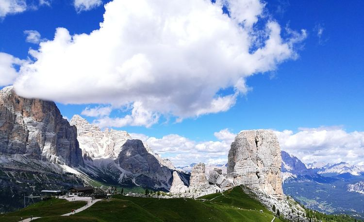 Cloud - Sky Landscape Sky Beauty In Nature Outdoors Scenics Nature No People Day dolomiti italy peace EyeEmNewHere