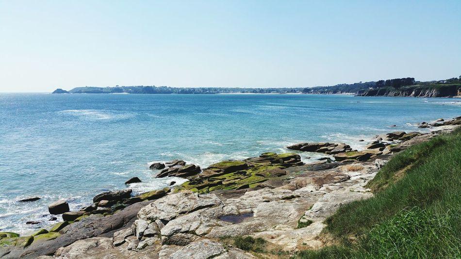 Tregana.. Sea Sun Coastline Sea And Sky Seaside