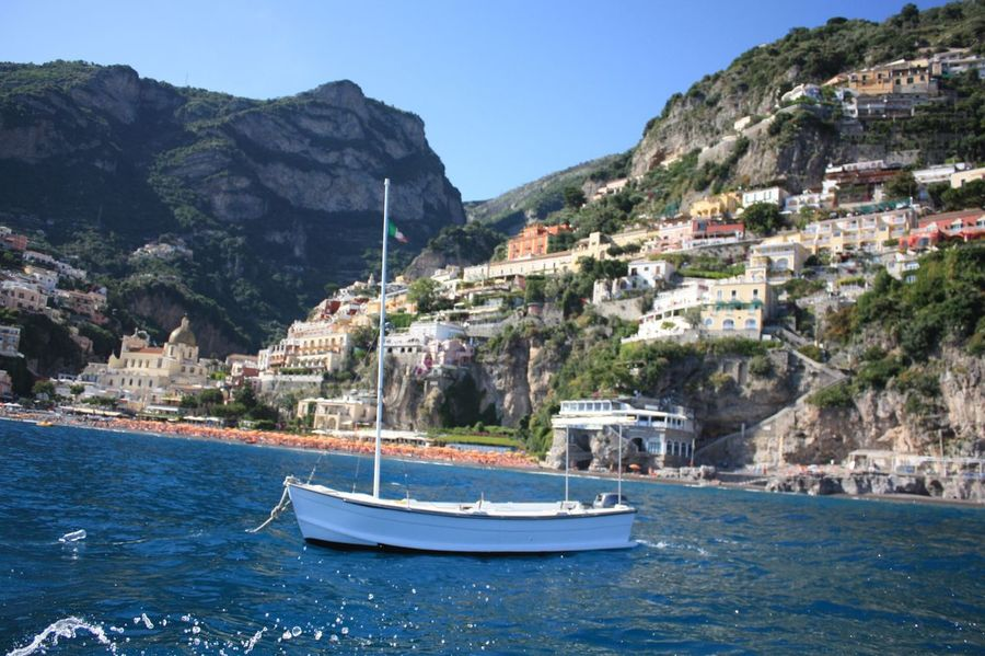 Water Holiday Italy❤️ Boat Ride Funtimes Amalfi Coast Positano By Sea The Essence Of Summer Sunshine Sommergefühle