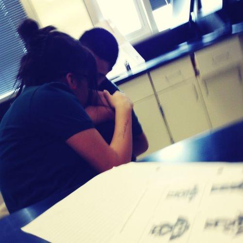 My Bestfriend (Chepe) && my main bitch Kassandra (;