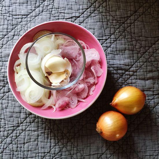 Garlic onions shallots clean eating