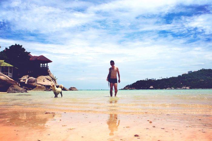 Memory Of Travel 2014 Thailand Kho Tao Model ❤️泰国涛岛