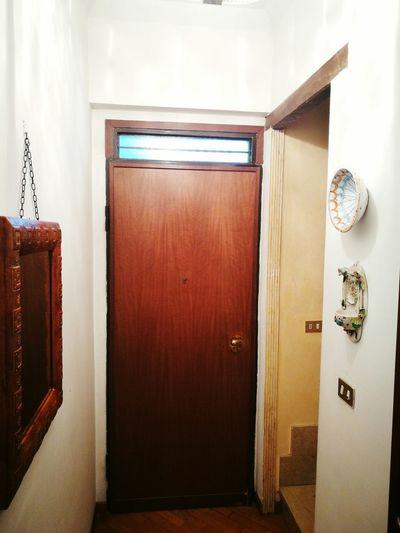 Casa Entrata Uscita Porta Specchio Maniglia Portablindata Door House Home