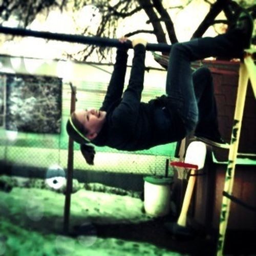 Swing Upside Down
