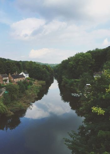 Birthplace of Industry Ironbridge  River Severn River Shropshire Landscape Countryside
