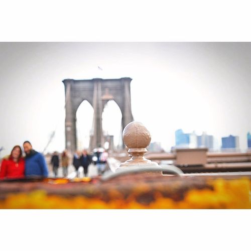 Travel Destinations People Architecture Adult City EyeEm Brooklyn Bridge / New York New York Adult Walking Focus Object