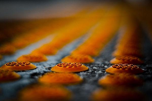 Orange By Motorola Orange Bokeh