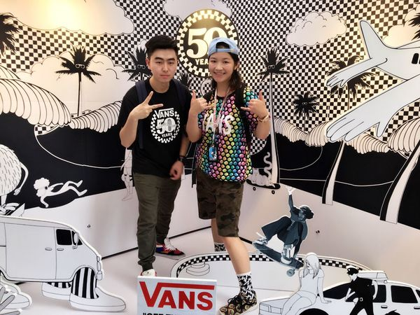 Hi! Vans ❤ 广州 Enjoying Life G-Shock ⌚ Off The Wall